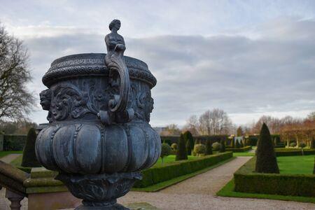 A European ornamental garden
