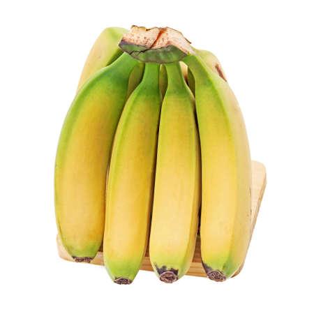 Banana isolated on white photo