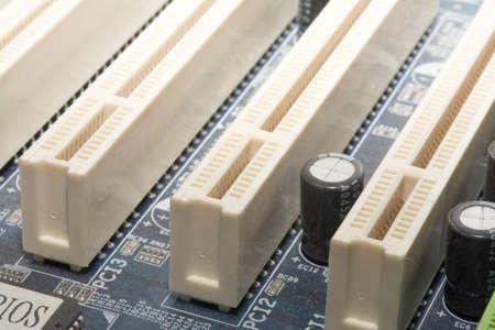 ps: computer motherboard close up