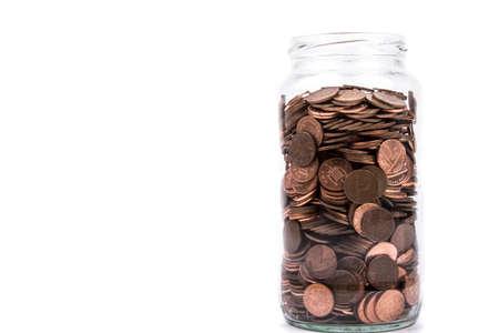 monies: A Full Change Jar