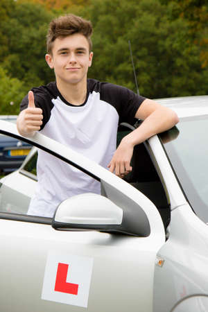 passed test: Passed Driving Test Stock Photo