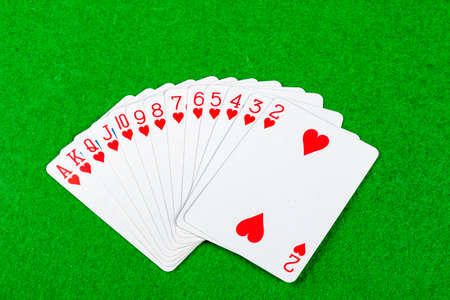 Complete suite of cards