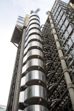 London, United Kingdom - October 30th, 2017:- The Lloyds of London insurance building Editorial