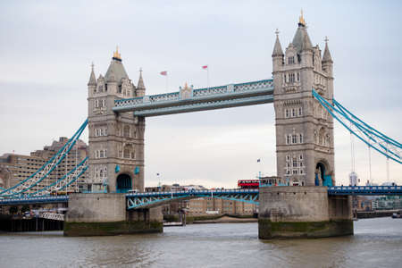 London, United Kingdom, 31st January 2019:- Tower Bridge across the River Thames