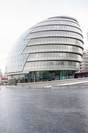 London, United Kingdom, 31st January 2019:- City Hall, headquarters of the Greater London Assembly