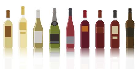 와인의 가장 일반적인 컬렉션