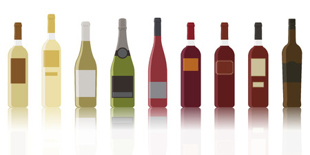 The most common collection of types of wine