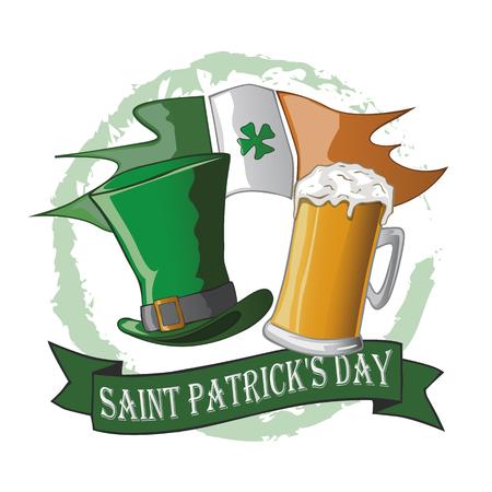 logo for the celebration of saint patrick's day