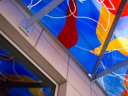 overhang: Detail of Exterior Overhang