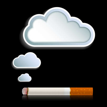 smoke background vector Vector