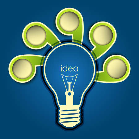 idea background vector Vector
