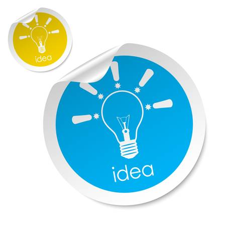 idea stick Vector