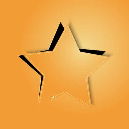 golden star background vector Stock Vector - 17804648