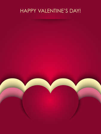valentines background vector Stock Vector - 17804703