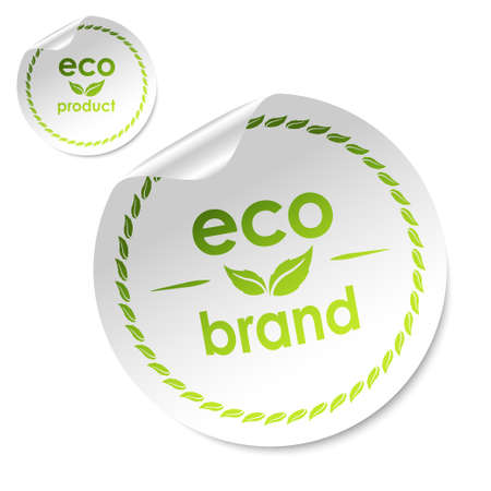 eco stick vector Vector