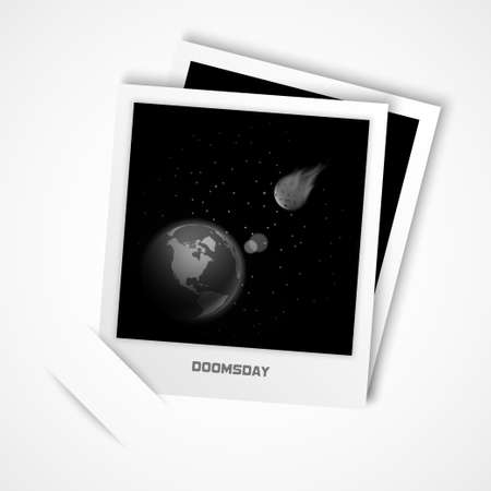 doomsday: doomsday photo vector