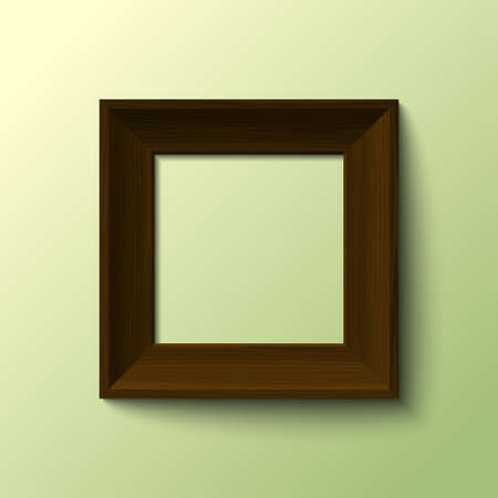 realistic frame for your image vector Stock Vector - 17804669