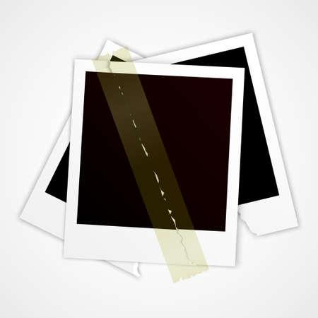 torn photo vector Stock Vector - 17948208