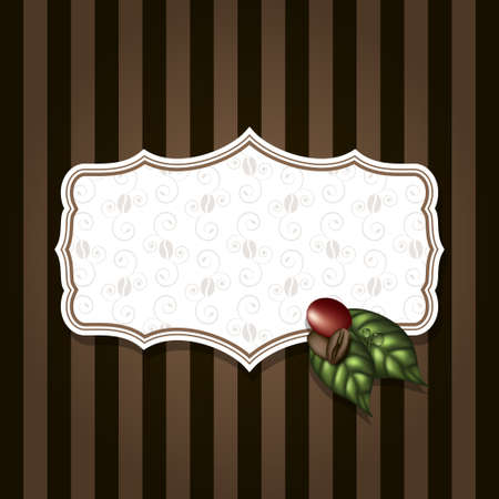 coffee beans vector Vector