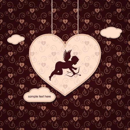 be my valentine vector Stock Vector - 17948030