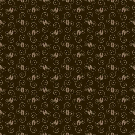 coffee beans pattern  Stock Vector - 17947986