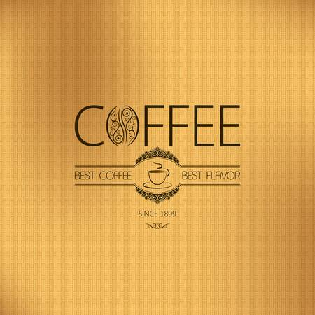 abstract mill: coffee vintage background