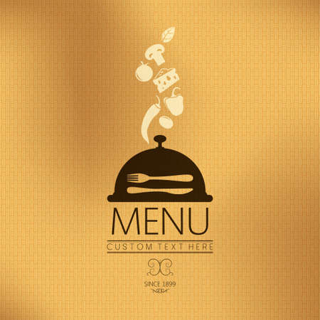 menu background  flavor theme   Stock Vector - 19354680