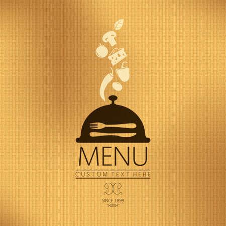 menu background  flavor theme Stock Vector - 19354680