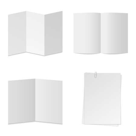 paper vector set Stock Vector - 20986230