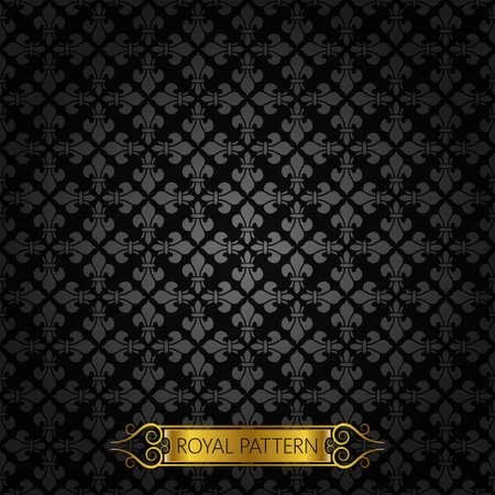 royal rich style: vintage royal background pattern