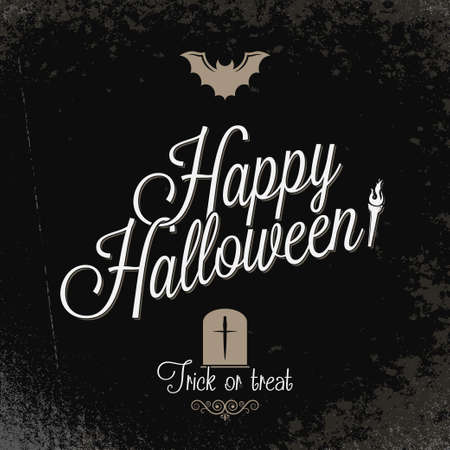 holiday - frame happy halloween Stock Vector - 21808087
