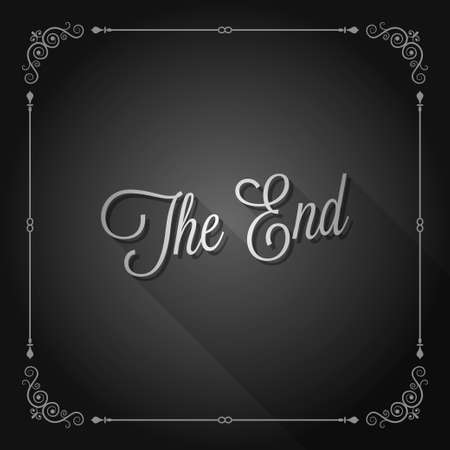 the end: the end sign movie ending frame