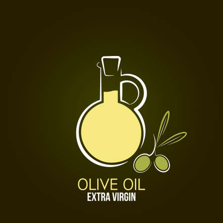 virgin: olive oil design background  Illustration