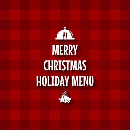 christmas cards: Christmas menu design