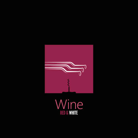 wine design menu background  Vector