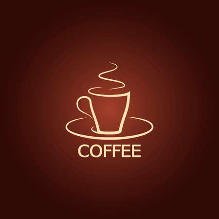 coffee cup design icon background  Vector