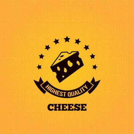 parmigiano: formaggio vintage label disegno di sfondo Vettoriali