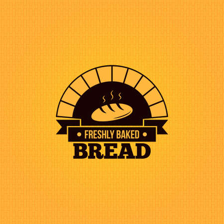 bakery products: bread vintage design menu background