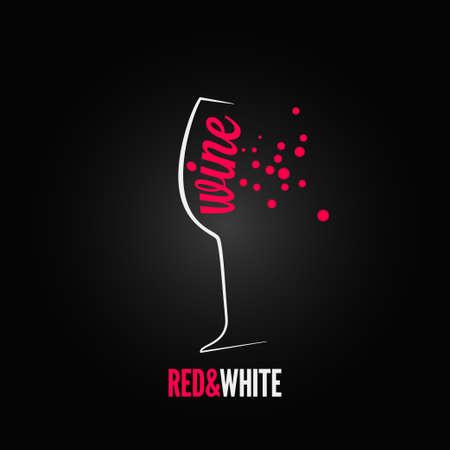 verre de vin bulles menu splash