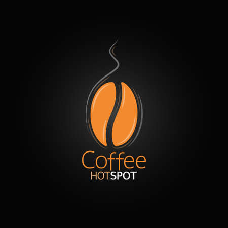 Caffè menu di progettazione bean Archivio Fotografico - 26162685
