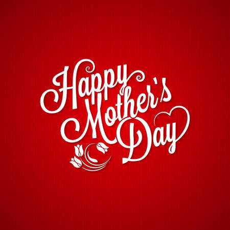 mothers: mothers day vintage lettering background
