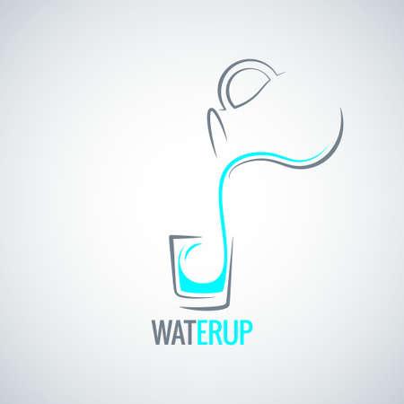 water jug: water glass bottle menu background
