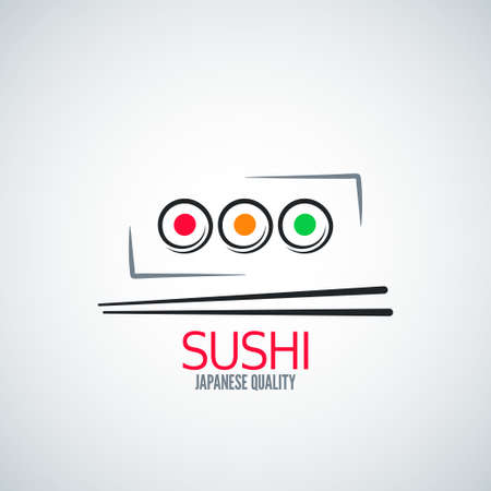 platter: sushi roll plate menu background