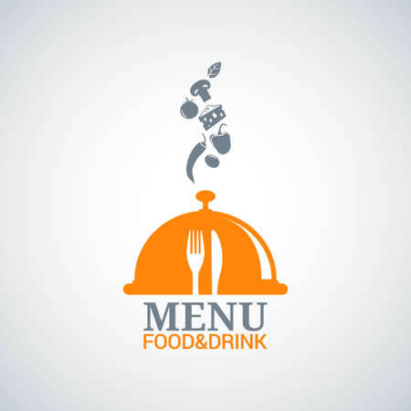 food and drink holiday: menu design food drink dishes background