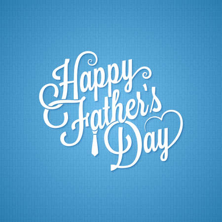 fathers day vintage lettering background
