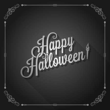 halloween movie screen vintage background