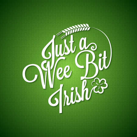 irish banners: Patrick day vintage irish background