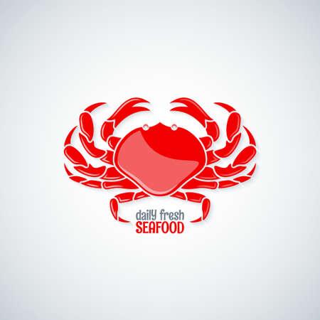 crab legs: crab seafood menu background