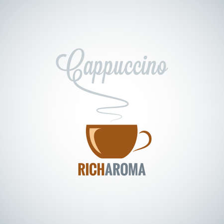cappuccino cup: cappuccino cup design background
