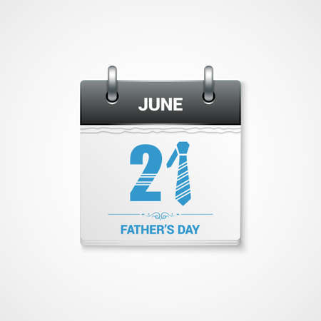 time of the day: fathers day date design background